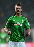 FUSSBALL   1. BUNDESLIGA   SAISON 2012/2013    22. SPIELTAG SV Werder Bremen - SC Freiburg                                16.02.2013 Marko Arnautovic (SV Werder Bremen) ist enttaeuscht