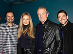 """The Young and The Restless - """"Newman family"""" - Genoa City Live celebrating over 40 years with Joshua Morrow, Melissa Ordway, Eric Braeden, Robert Adamson on February 20, 2016 at the Wellmont Theatre, Montclair, NJ. on stage with questions and answers hosted by Christian and Sean followed with autographs and photos in the theater.  (Photo by Sue Coflin/Max Photos)"""