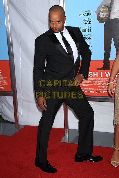 NEW YORK, NY - JULY 14: Donald Faison attends the New York Premiere of &quot;Wish I Was Here&quot; at the AMC Loews Lincoln Square Cinemas on July 14, 2014 in New York City<br /> CAP/LNC/TOM<br /> &copy;LNC/Capital Pictures
