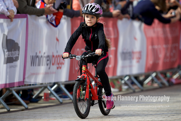Pix: Shaun Flannery/shaunflanneryphotography.com<br /> <br /> COPYRIGHT PICTURE&gt;&gt;SHAUN FLANNERY&gt;01302-570814&gt;&gt;07778315553&gt;&gt;<br /> <br /> 19th June 2016<br /> Doncaster Cycle Festival 2016<br /> Under 8s&rsquo; Race<br /> Sponsored by Don Valley Cycles