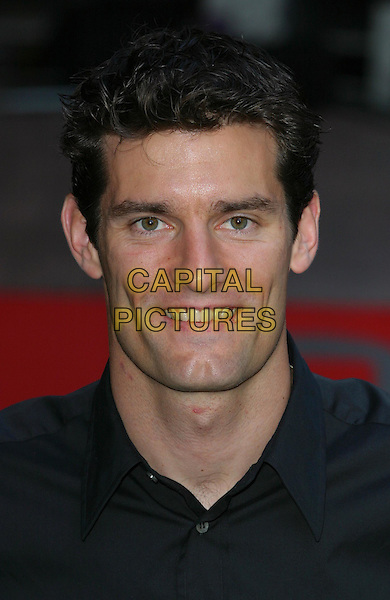 MARK WEBBER.Terminator 3 - Rise Of The Machines Premiere, Odeon Leicester Square, London.21st July 2003.headshot, portrait.www.capitalpictures.com.sales@capitalpictures.com.Supplied By Capital PIctures