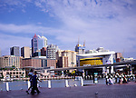 City centre skyscraper office buildings, Darling harbour, Sydney, Australia