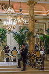Interior of the Ritz Hotel in London, England