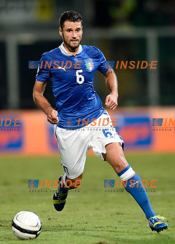 Antonio Candreva Italia <br /> Palermo 06-09-2013 Stadio La Favorita  - qualificazione mondiale Brasile 2014 / Italia-Bulgaria / foto Daniele Buffa/Image Sport/Insidefoto
