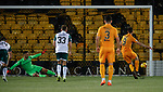 29.03.2019 Livingston v Hibs: Ryan Hardie scores from the spot
