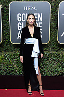 Elizabeth Chambers arrives at the 75th Annual Golden Globe Awards at the Beverly Hilton in Beverly Hills, CA on Sunday, January 7, 2018.<br /> *Editorial Use Only*<br /> CAP/PLF/HFPA<br /> &copy;HFPA/PLF/Capital Pictures