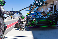 12th January 2020; The Bend Motosport Park, Tailem Bend, South Australia, Australia; Asian Le Mans, 4 Hours of the Bend, Race Day; The number 77 D'Station Racing GT driven by Satoshi Hoshino, Tomonobu Fujii, Ross Gunn tyre change during the race - Editorial Use