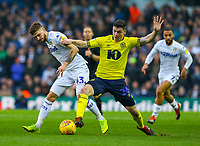 Leeds United's Mateusz Klich vies for possession with Blackburn Rovers' Darragh Lenihan<br /> <br /> Photographer Alex Dodd/CameraSport<br /> <br /> The EFL Sky Bet Championship - Leeds United v Blackburn Rovers - Wednesday 26th December 2018 - Elland Road - Leeds<br /> <br /> World Copyright &copy; 2018 CameraSport. All rights reserved. 43 Linden Ave. Countesthorpe. Leicester. England. LE8 5PG - Tel: +44 (0) 116 277 4147 - admin@camerasport.com - www.camerasport.com