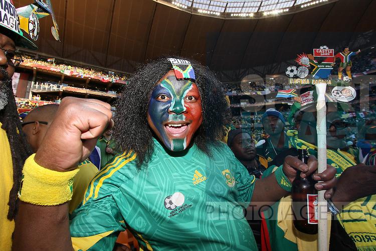 A South African fan