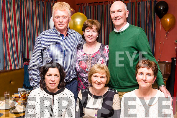 Awards<br /> ----------<br /> Enjoying the Kerry hurling All Stars awards in McElligotts bar, Abbeydorney last Saturday night were, front, L-R Mary Walsh, Geraldine Collins&amp;Mary Brick, back L-R Gerard Collins, Julie O'Connor with John Martin Brick.