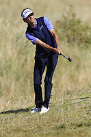 Pedro Oriol (ESP) chips onto the 6th green during Friday's Round 2 of the 2018 Dubai Duty Free Irish Open, held at Ballyliffin Golf Club, Ireland. 6th July 2018.<br /> Picture: Eoin Clarke | Golffile<br /> <br /> <br /> All photos usage must carry mandatory copyright credit (&copy; Golffile | Eoin Clarke)