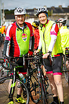 Michael and Lisa Corkery at the Stephenie O'Sullivan Memorial Cycle at Milton on Sunday.