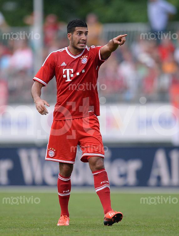 FUSSBALL  1. Bundesliga   2013/2014   Testspiel  FC Bayern Muenchen - Brescia Calcio      09.07.2013 Emre Can (FC Bayern Muenchen)