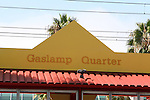 IMAGES OF SAN DIEGO, CALIFORNIA, USA, GASLAMP QUARTER