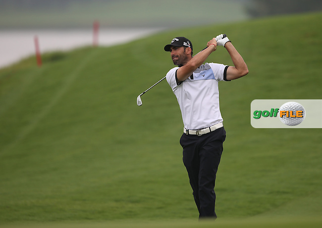 Alvaro Quiros (ESP) shoots a T1 67 during Round One of the 2014 Volvo China Open, Genzon Golf Club, Shenzhen, China. Picture:  David Lloyd / www.golffile.ie