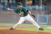 Greensboro Grasshoppers pitcher Zach Neal #32 delivers a pitch during the second game of a double header against the Asheville Tourists at McCormick Field on July 26, 2011 in Asheville, North Carolina. Greensboro won the game 5-3.   (Tony Farlow/Four Seam Images)