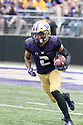 SEATTLE, WA - September 29:  Washington's Aaron Fuller against BYU during the football game between the Washington Huskies and the BYU Cougars on September 29, 2018 at Husky Stadium in Seattle, WA. Washington won 27-20 over BYU.