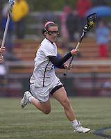 Boston College midfielder Kristin Igoe (21).  Boston College defeated University of New Hampshire, 11-6, at Newton Campus Field, May 1, 2012.