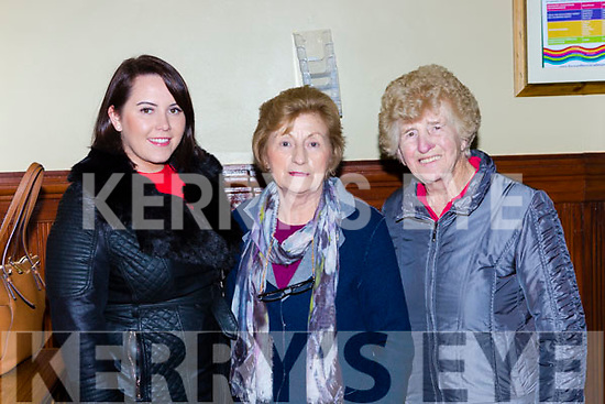 Karen Kearney, Carmel O'Driscoll, and Ellen O'Sullivan Castleisland at the Three Tenors concert in St Stephen and John church Castleisland on Tuesday night