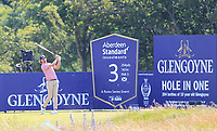 Pedro Figueiredo (POR) on the 3rd tee during Round 1 of the Aberdeen Standard Investments Scottish Open 2019 at The Renaissance Club, North Berwick, Scotland on Thursday 11th July 2019.<br /> Picture:  Thos Caffrey / Golffile<br /> <br /> All photos usage must carry mandatory copyright credit (© Golffile | Thos Caffrey)
