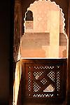 Ibn Yusuf Medrassa in Marrakesh, Morocco.