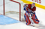 16 January 2007: Montreal Canadiens goaltender Cristobal Huet of France in action against the Vancouver Canucks at the Bell Centre in Montreal, Canada. The Canucks defeated the Canadiens 4-0.Mandatory Credit: Ed Wolfstein Photo *** Editorial Sales through Icon Sports Media *** www.iconsportsmedia.com