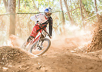 Picture by Alex Broadway/SWpix.com - 08/09/17 - Cycling - UCI 2017 Mountain Bike World Championships - Downhill - Cairns, Australia - Gee Atherton of Great Britain in action during a practice session.