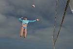 Spike <br /> <br /> Edge:  Kerri Walsh<br /> Workout<br /> Manhattan Beach, CA, USA<br /> 6/2/2014<br /> X158301 TK1<br /> Credit: Donald Miralle
