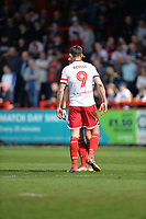 Alex Revell of Stevenage during Stevenage vs Cambridge United, Sky Bet EFL League 2 Football at the Lamex Stadium on 14th April 2018