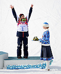 09/02/2014 - Womens Snowboard Slopestyle - Rosa Khutor Extreme Park - Sochi 2014 - Sochi - Russia