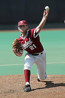 Stanford pitcher Jeremy Bleich in 2006 (Photo by Andrew Woolley / Four Seam Images)