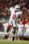 Ohio State quarterback Terrelle Pryor (2) runs with the ball during an NCAA college football game against the Wisconsin Badgers on October 16, 2010 at Camp Randall Stadium in Madison, Wisconsin. The Badgers beat the Buckeyes 31-18. (Photo by David Stluka)