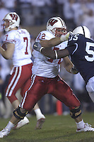 05 November 2005:Joe Thomas (72)..The Penn State Nittany Lions defeated the Wisconsin Badgers 35-14 November 5, 2005 at Beaver Stadium in State College, PA..