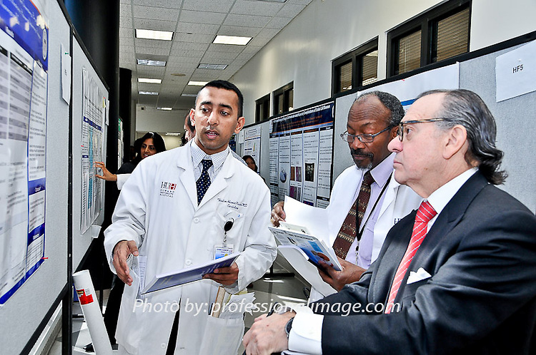 The Distinguished Visiting Cardiovascular Lectureship -  Scientific Poster Session - John B. Johnson, MD, DSc. Photography by John Drew c/o professionalimage.com at Howard Hospital Department of Medicine | #Professionalimage, #HowardU, #HowardUniv #Howardhospital