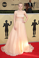 LOS ANGELES, CA - JANUARY 21: Dakota Fanning at The 24th Annual Screen Actors Guild Awards held at The Shrine Auditorium in Los Angeles, California on January 21, 2018. Credit: FSRetna/MediaPunch