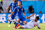 Claudio Marchisio (ITA), Christian Bolanos (CRC), JUNE 20, 2014 - Football / Soccer : FIFA World Cup Brazil 2014 Group D match between Italy 0-1 Costa Rica at Arena Pernambuco in Recife, Brazil. (Photo by Maurizio Borsari/AFLO) [0855]