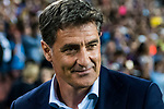 Coach Jose Miguel Gonzalez Martin del Campo, Michel, of Malaga CF prior to the La Liga 2017-18 match between FC Barcelona and Malaga CF at Camp Nou on 21 October 2017 in Barcelona, Spain. Photo by Vicens Gimenez / Power Sport Images