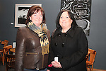 """Margaret Kierans and Natasha Fennell at the Lourdes Brass Band and St.Brigids Drama Group Performance of """"A Christmas Carol"""" in The Droichead Arts Centre...(Photo credit should read Jenny Matthews www.newsfile.ie)....This Picture has been sent you under the conditions enclosed by:.Newsfile Ltd..The Studio,.Millmount Abbey,.Drogheda,.Co Meath..Ireland..Tel: +353(0)41-9871240.Fax: +353(0)41-9871260.GSM: +353(0)86-2500958.email: pictures@newsfile.ie.www.newsfile.ie."""