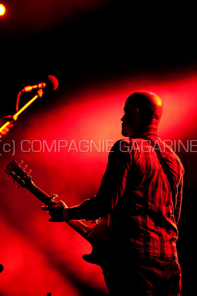 Belgian rock band K's Choice in concert at the Casablanca festival in Hemiksem (Belgium, 04/08/2011)