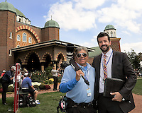 27 SEP 12  KD with Ben Harrison at The 39th Ryder Cup at The Medinah Country Club in Medinah, Illinois.