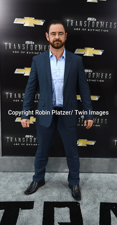 "Glenn Keough attends the US Premiere of ""Transformers: Age of Extinction"" on June 25, 2014 at The Ziegfeld Theatre in New York City, New York, USA."