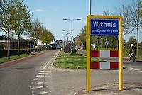 Bord buurtschap Withuis, gemeente Eijsden en Margraten