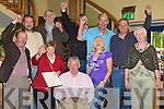 Happy faces in the Robert Beasley Sinn Fein Listowel Camp as he was elected on to the kerry County Council.....