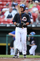 Buffalo Bisons Luis Hernandez during a game vs. the Lehigh Valley IronPigs at Coca-Cola Field in Buffalo, New York;  August 1, 2010.  Buffalo defeated Lehigh Valley 2-1 in 10 innings.  Photo By Mike Janes/Four Seam Images