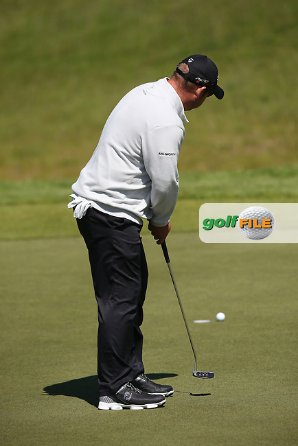 Justin Walters (RSA)  cold with the putter during Round Two of the 2015 Nordea Masters at the PGA Sweden National, Bara, Malmo, Sweden. 05/06/2015. Picture David Lloyd | www.golffile.ie