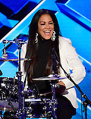 Sheila E + Family performs during the fourth session of the 2016 Democratic National Convention at the Wells Fargo Center in Philadelphia, Pennsylvania on Thursday, July 28, 2016.<br /> Credit: Ron Sachs / CNP<br /> (RESTRICTION: NO New York or New Jersey Newspapers or newspapers within a 75 mile radius of New York City)