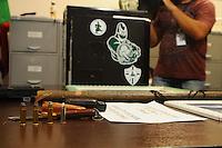 Sao Paulo, SP, 27 DE MARCO DE 2012 -Computadores preso nas sede da Macha Verde e da Gavioes. (FOTO: ADRIANO LIMA / BRAZIL PHOTO PRESS).