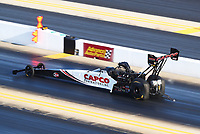Oct 12, 2019; Concord, NC, USA; NHRA top fuel driver Steve Torrence during qualifying for the Carolina Nationals at zMax Dragway. Mandatory Credit: Mark J. Rebilas-USA TODAY Sports