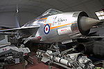 English Electric Lightning DB Norfolk  Suffolk aviation museum Flixton Bungay England.