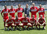 The Chicago Fire at The Home Depot Center, June 12, 2004.
